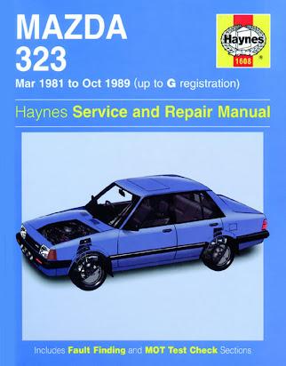 Free Mazda 323 Service Manual
