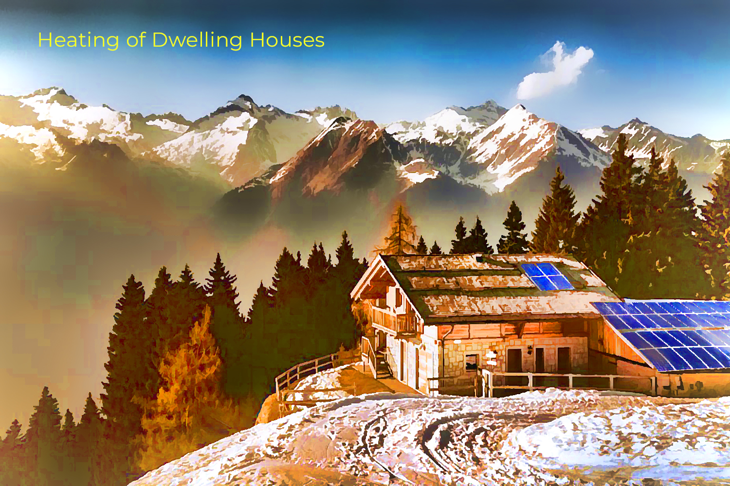 heating of dwelling houses