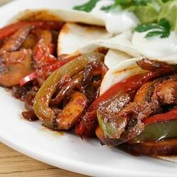 Image result for spicy chicken fajitas with mushrooms