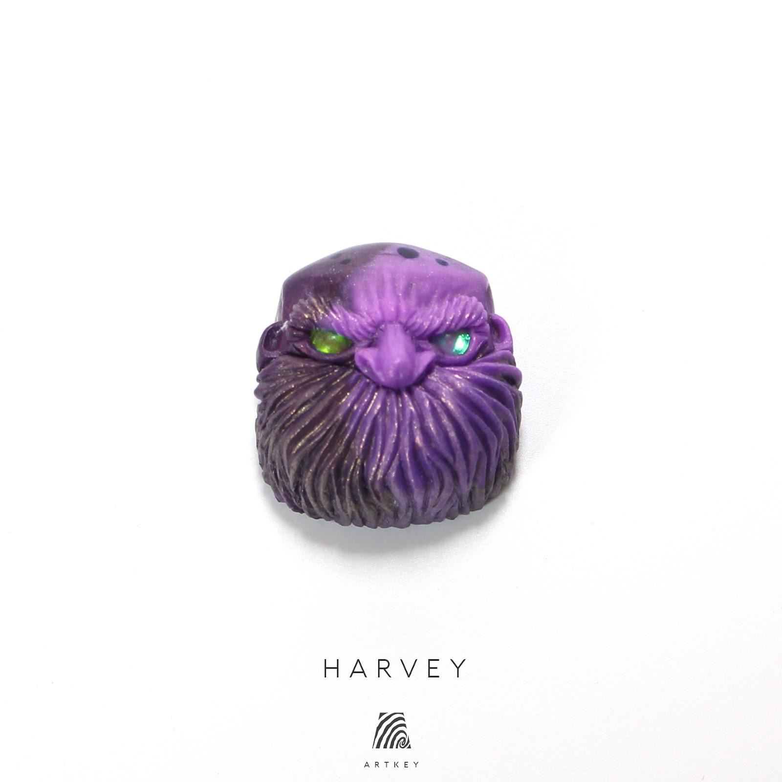 Artkey - Harvey Jack Bald