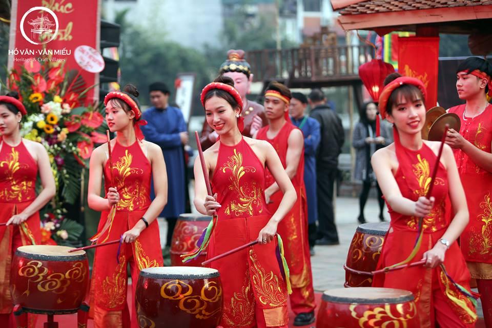 Lễ Hội khai xuân được tổ chức tại Hồ Văn