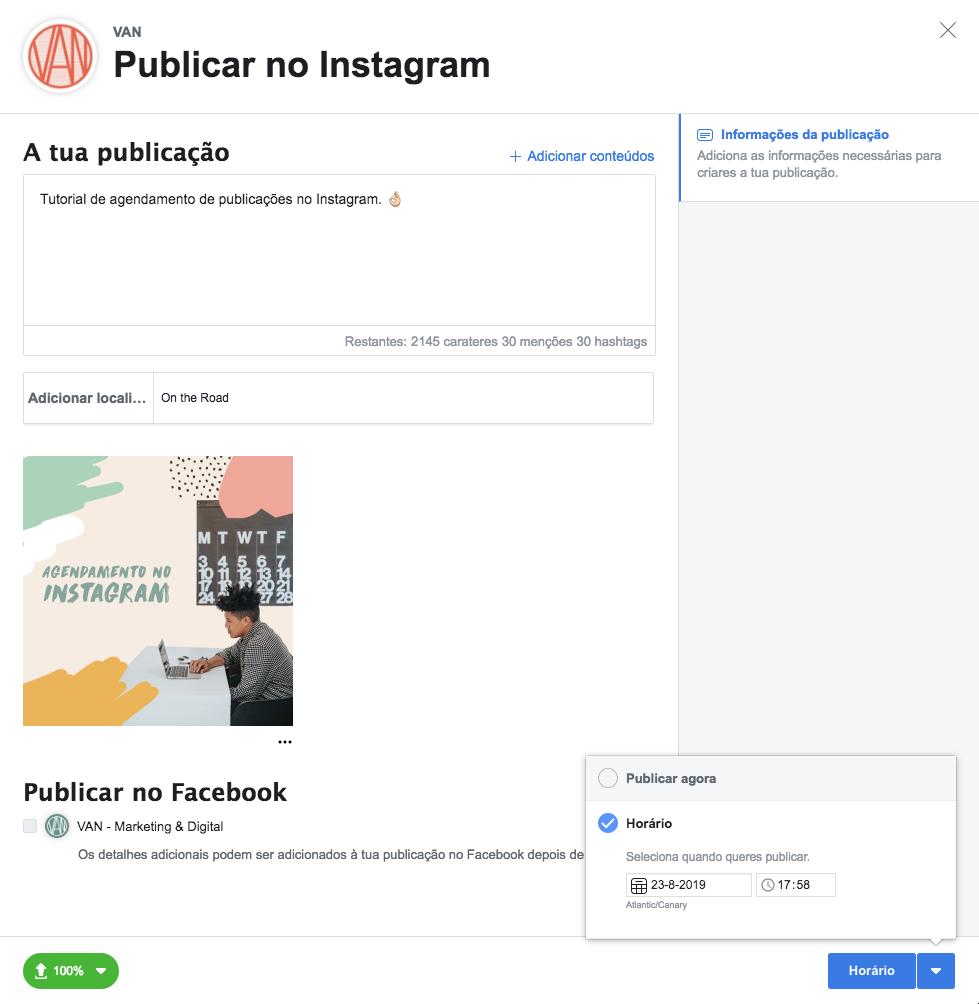 #9 Como agendar publicações no Instagram