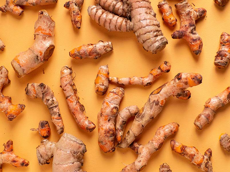 Turmeric has anti-inflammatory health benefits in large doses