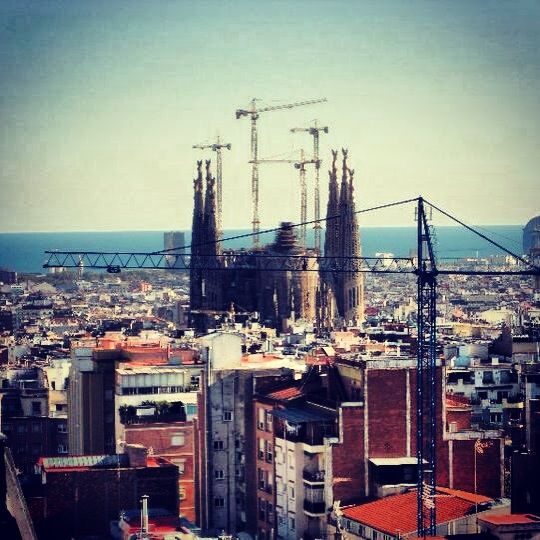 Barcelona, Sagrada Familia: Sprawing City Views - Urban Landscapes Yearning to be Explored