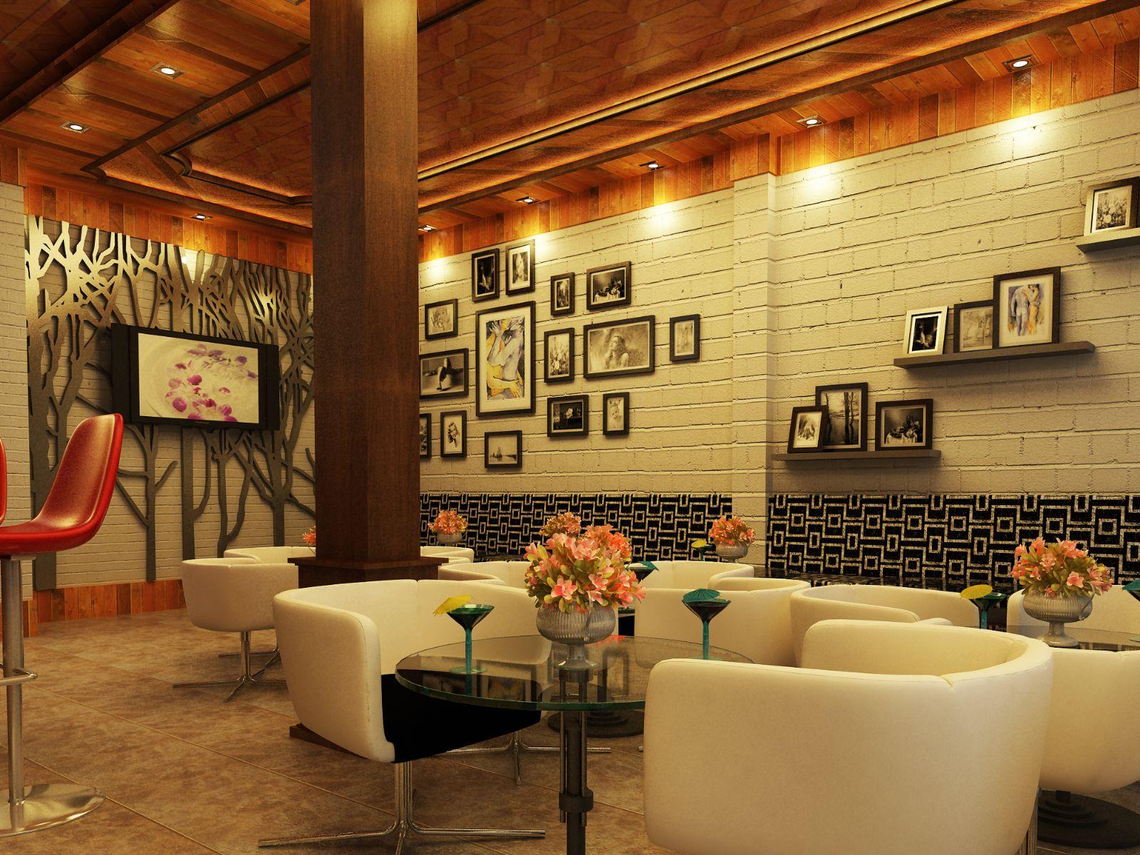 Sofa cafe màu trắng góp phần tạo nên sự trang nhã , tinh tế cho cửa hàng của bạn