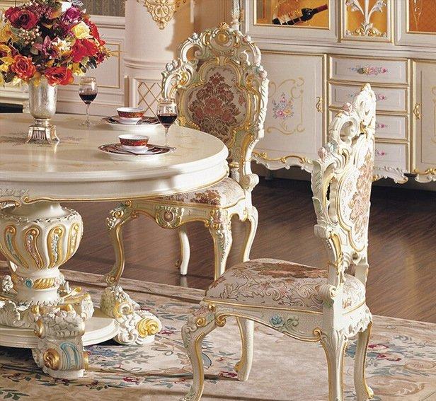 Мебель в европейском дворцовом стиле