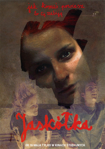 Przód ulotki filmu 'Jaskółka'