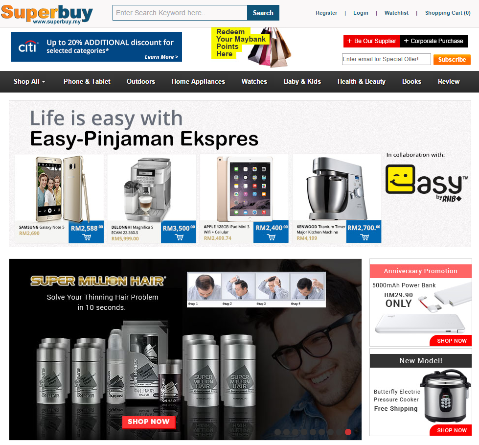 Malaysia best online shopping site