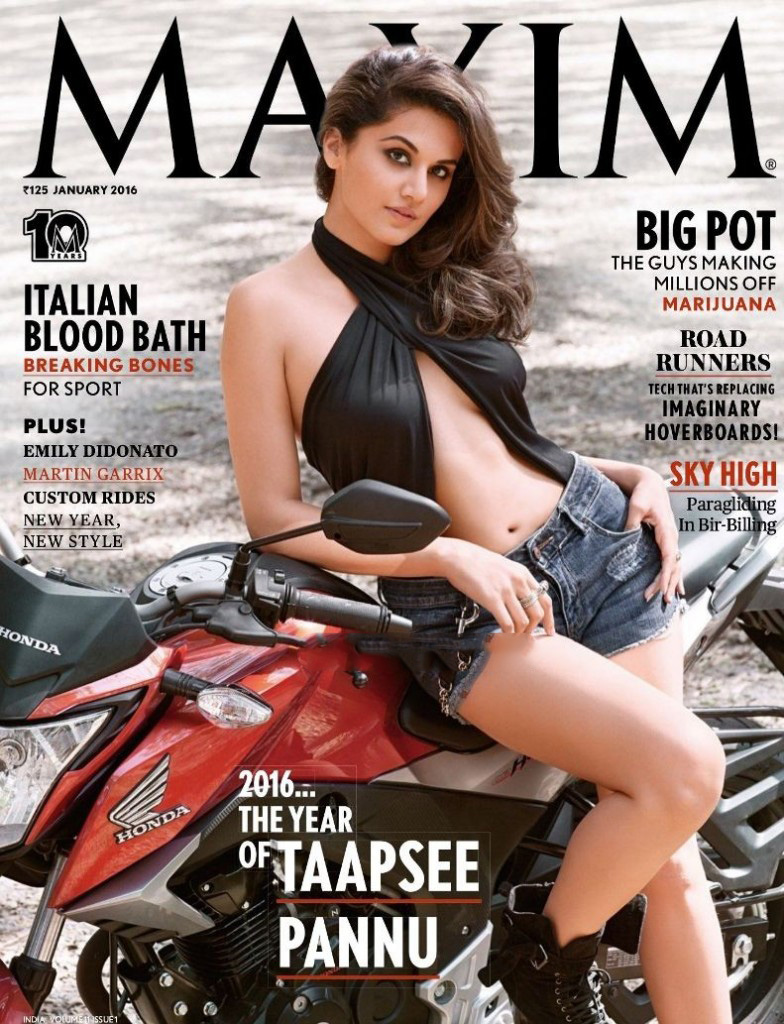 Taapsee Pannu Cover Girl MAXIM