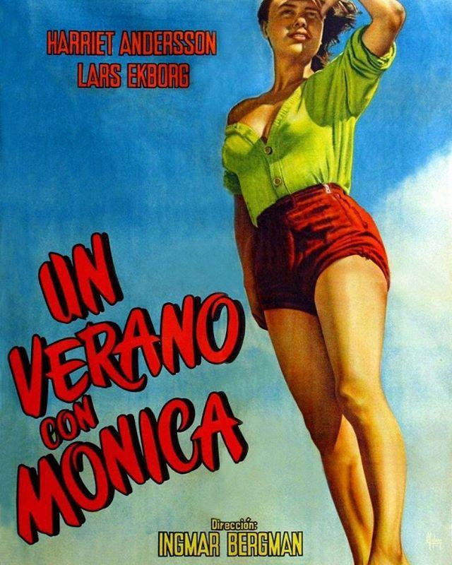 Un verano con Mónica (1953, Ingmar Bergman)
