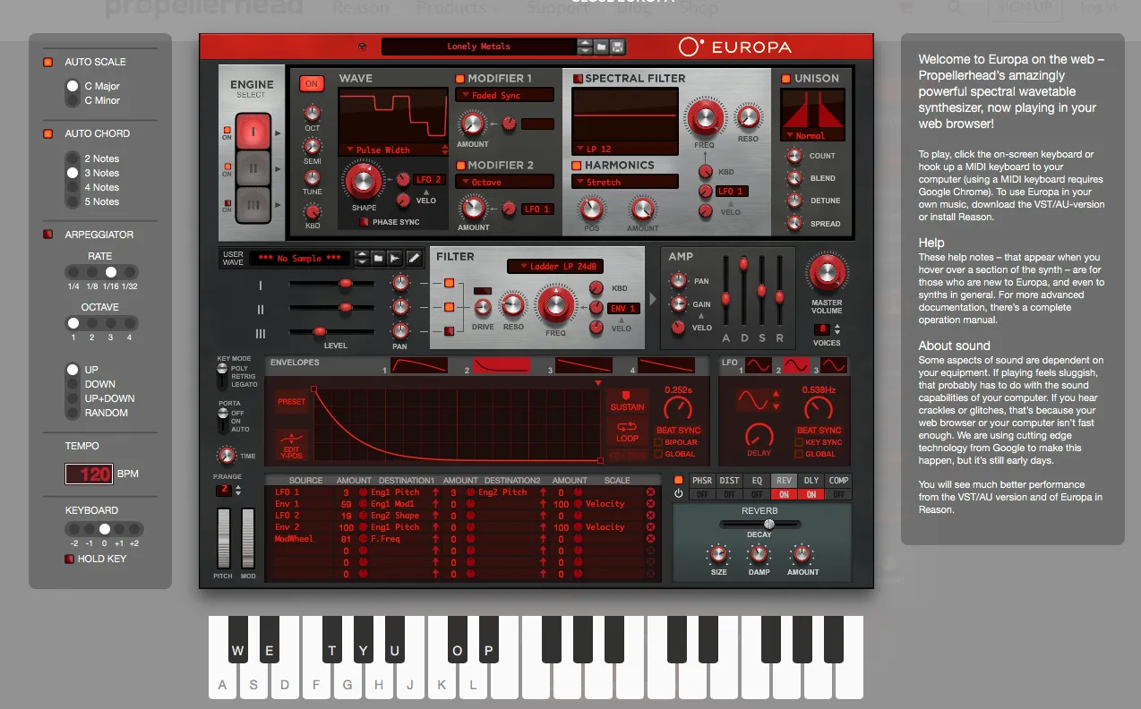 free synth online