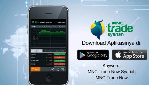 Aplikasi Trading dari dari MNC Trade