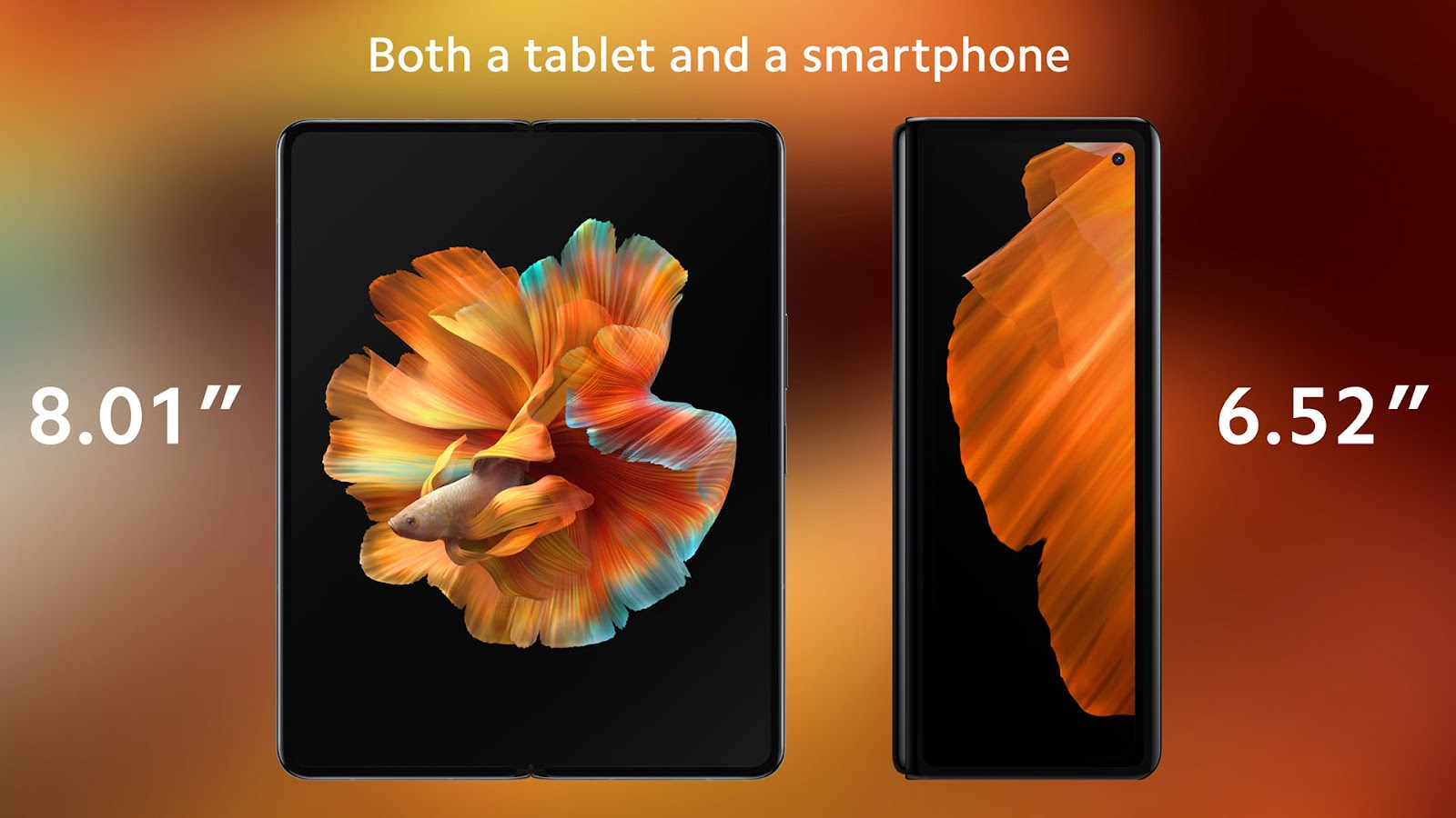 Tela é um dos grandes diferenciais do Mi Mix Fold (Reprodução: Twitter / Xiaomi)