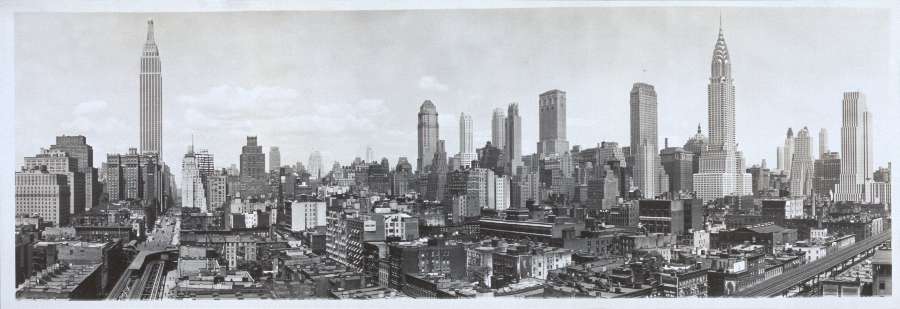 New York Skyline 1931