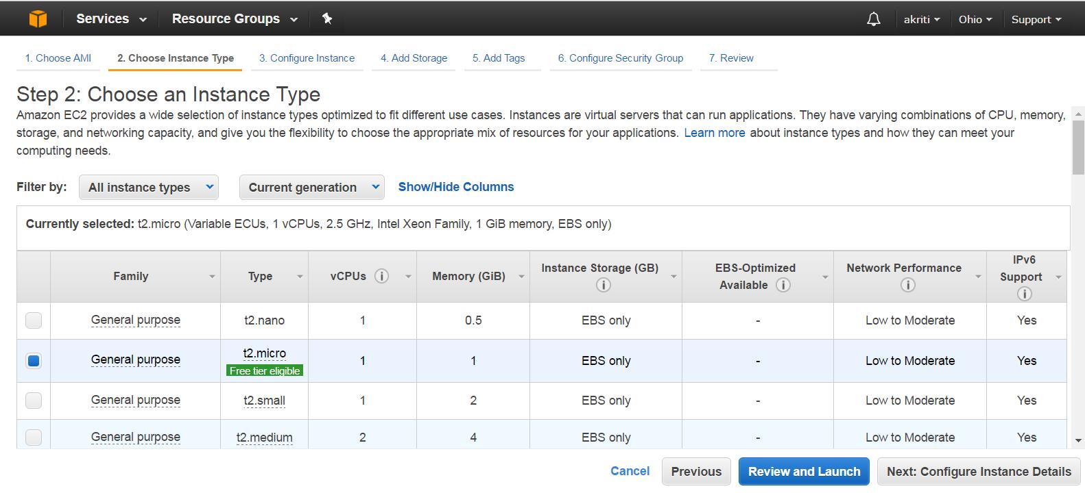 Create Virtual Machine on Amazon Web Services ( AWS ) 33
