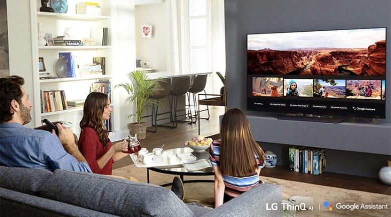 Smart Tivi LG 4K 86 inch 86UP8000PTB-Điều khiển TV bằng giọng nói