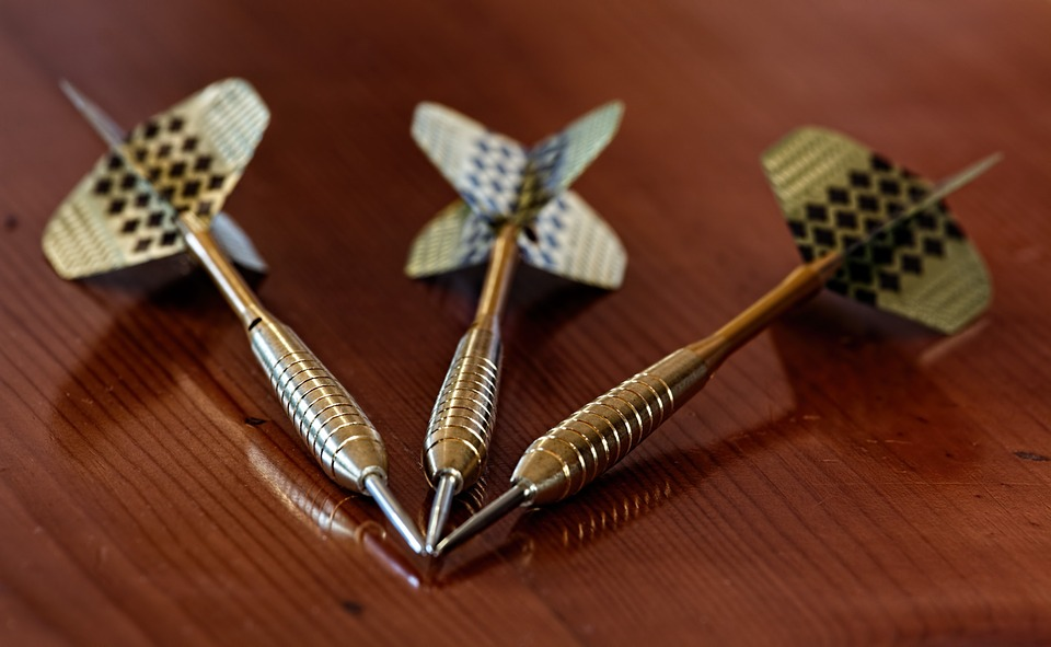 a set of darts and what is your target market