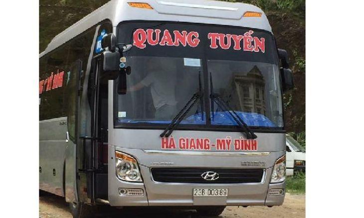 Xe đi Hà Giang chất lượng cao: Quang Tuyến