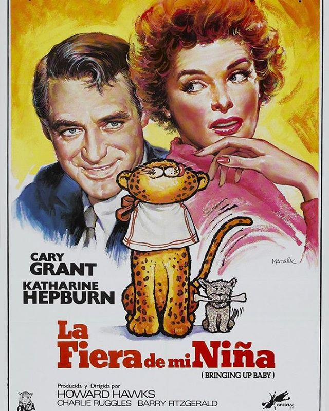 La fiera de mi niña (1938, Howard Hawks)