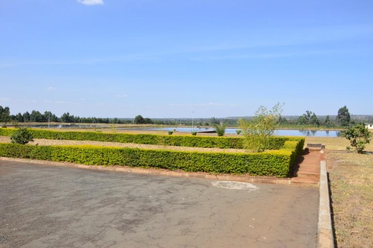 A view of our wastewater treatment plant in Kipkenyo area