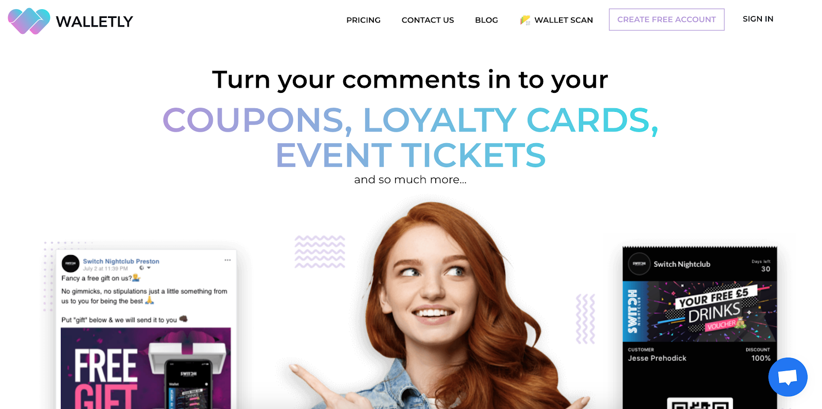 Walletly Customer Loyalty and Event Management Tool