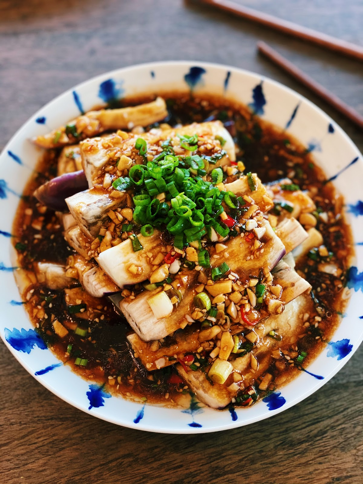 Chinese Garlic Eggplant