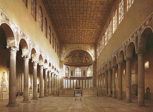 Resultado de imagem para arte paleocristã basilicas