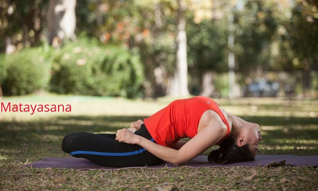 Matayasana for glowing skin