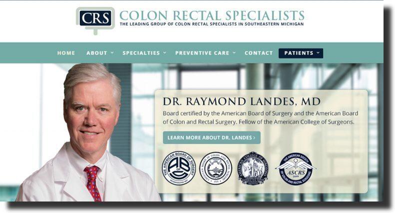 CRS medical website