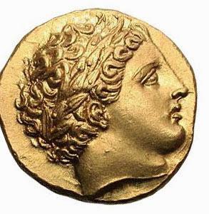 Древние золотые монеты