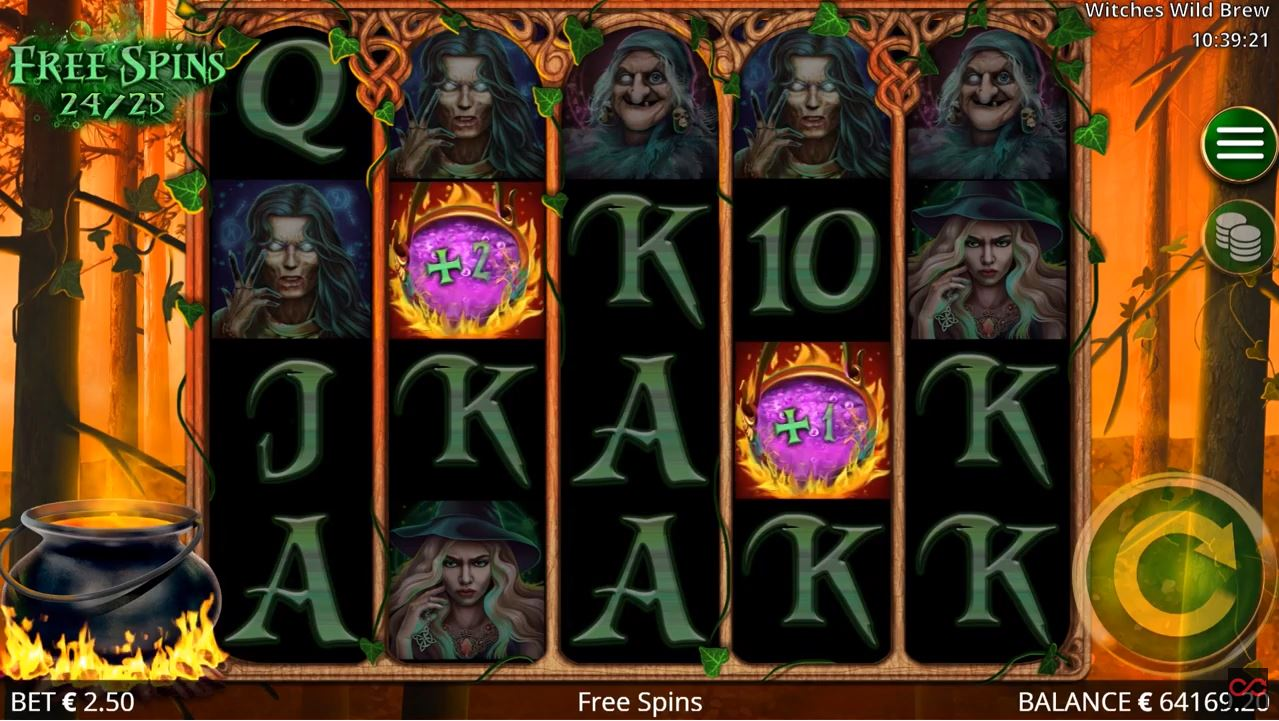 Witches Wild Brew Slot by Booming Games - Scatters Casino