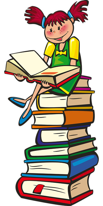 Book, Reading, Girl - Free images on Pixabay