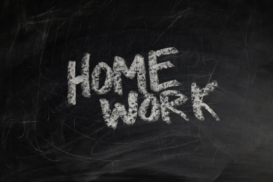 Board, School, Homework, Slate ...
