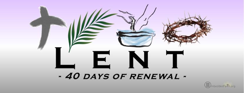 Image result for 40 days of renewal lent images