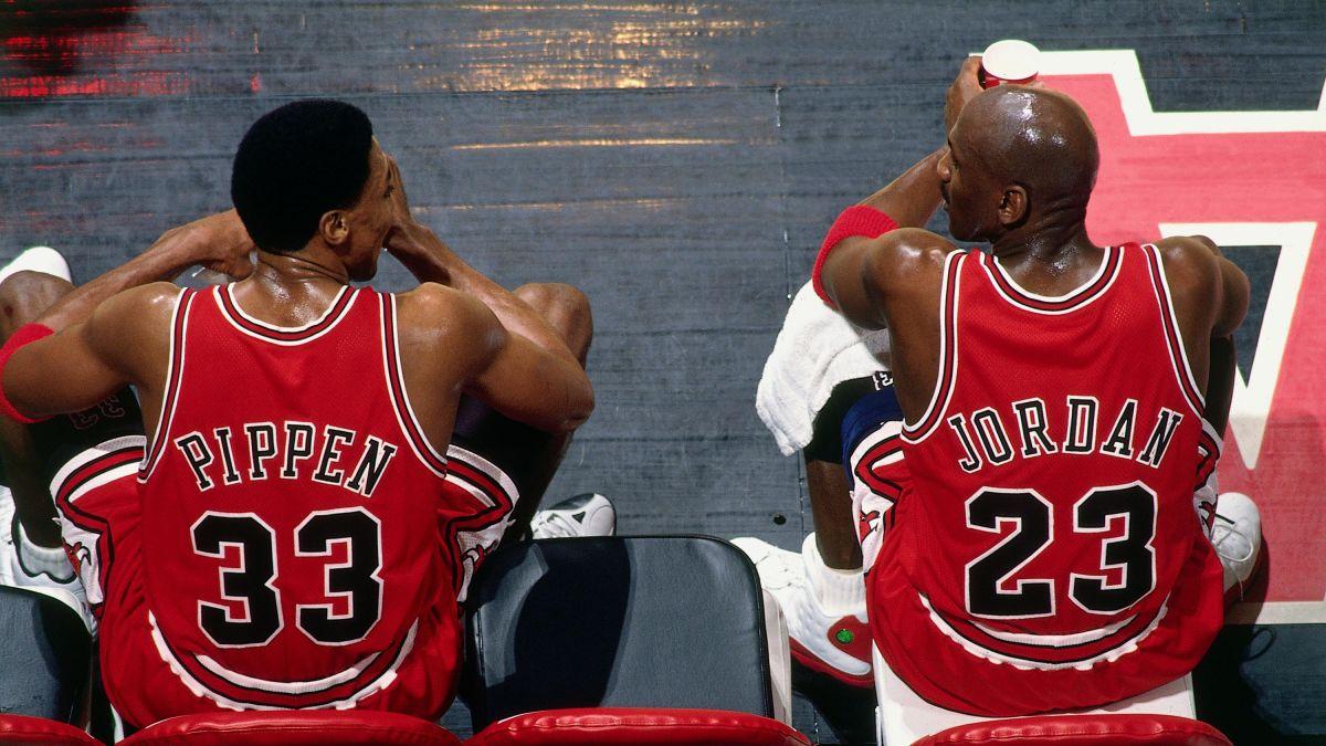 Scottie Pippen và Jordan là bộ đôi xuất sắc nhất của Bulls