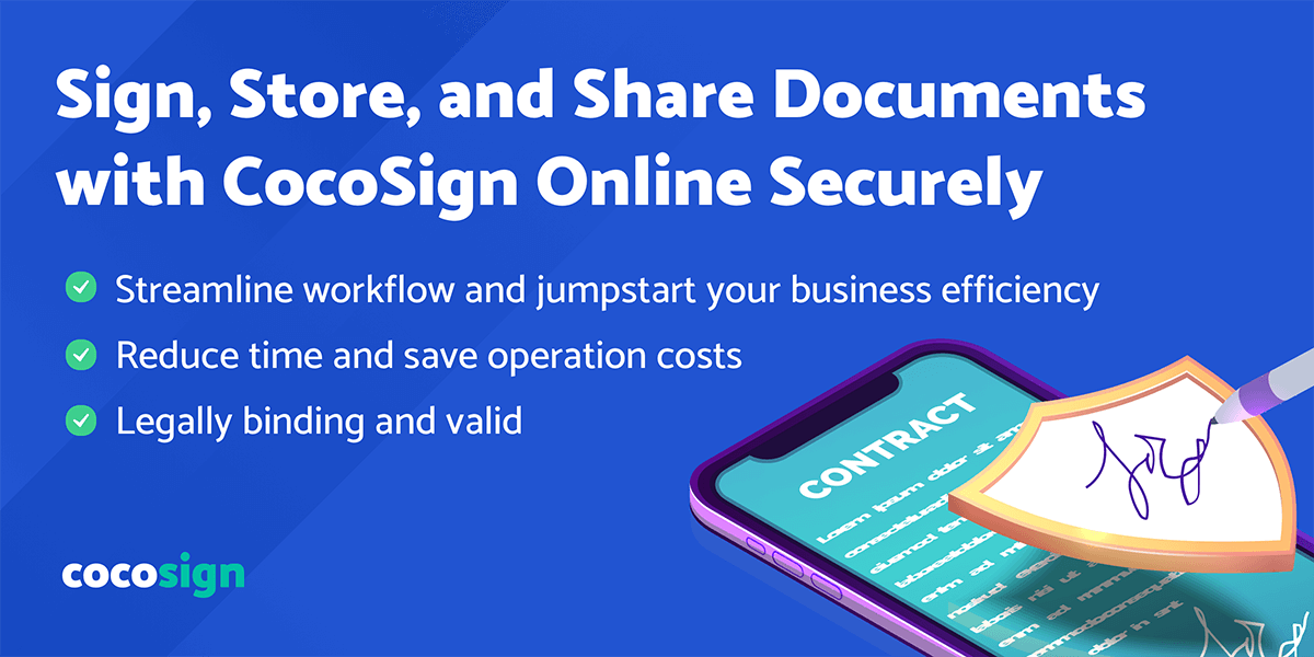 CocoSign, the Ultimate Solution to Provide Digital Signatures