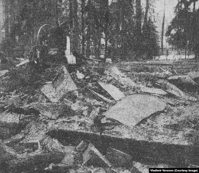 Дача в Краскове после взрыва