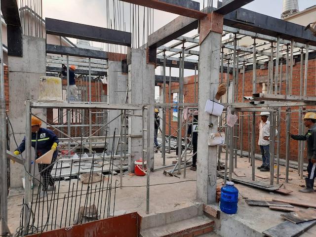 Bật mí những yếu tố tác động tới giá dịch vụ xây nhà phần thô