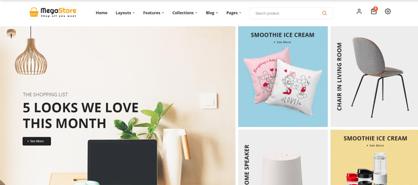 MegaStore  - Opencart ecommerce themes