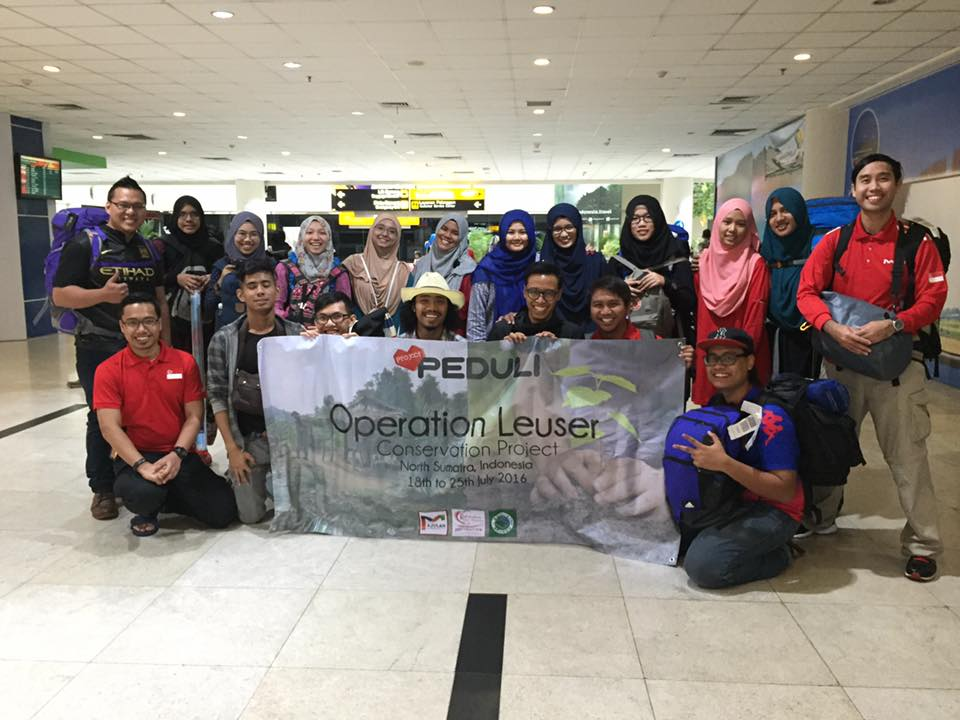 Project Peduli Operation Leuser Conservation Project by Majulah Community