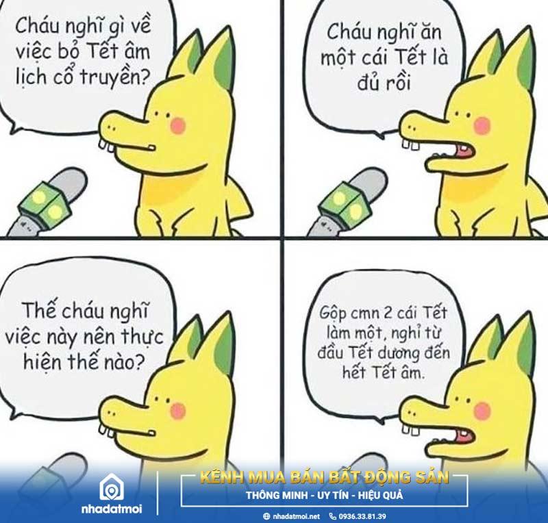 Ảnh Pikachu chế Tết