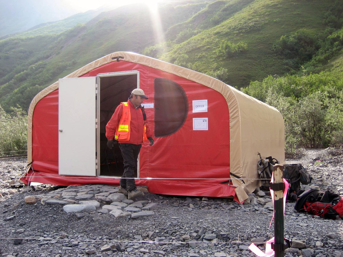 Mobile field station from WeatherPort