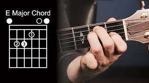 How-To-Play-The-E-Major-Chord