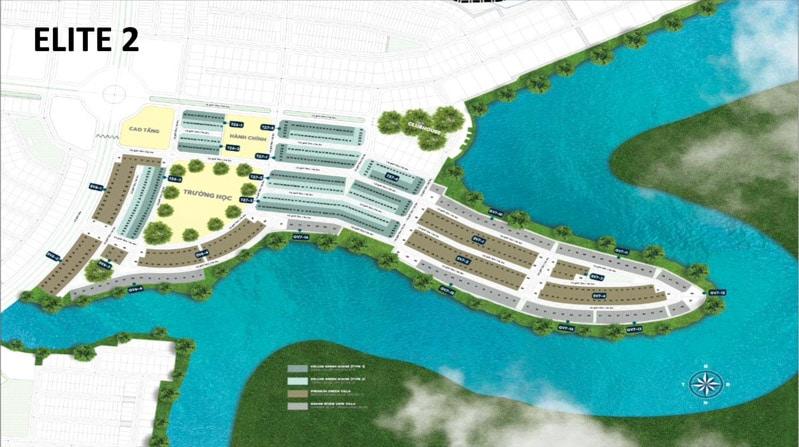 mat bang du an the elite 2 aqua city