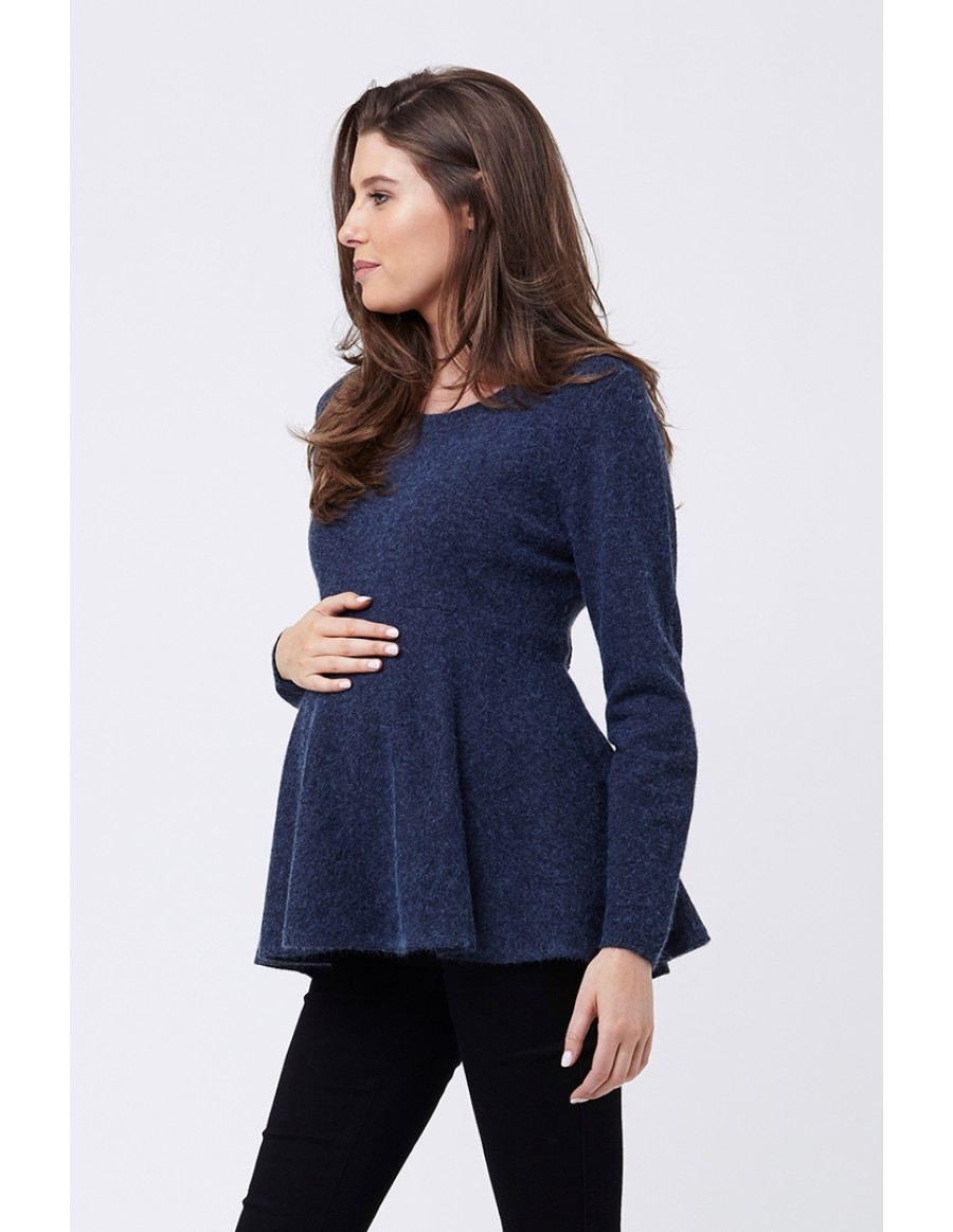769ab0aeb7 We love that the forgiving design of peplum allows for ample bump space,  making it the perfect piece to wear during every stage of pregnancy.