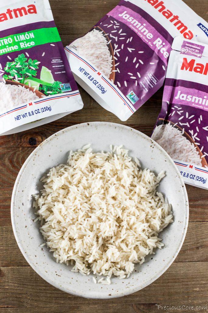 Perfectly fluffy Mahatma Rice