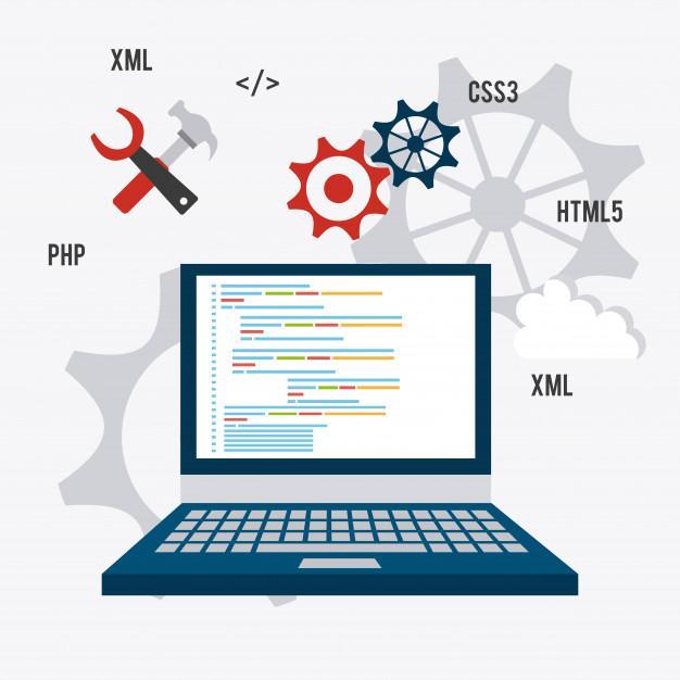 Software design. Premium Vector