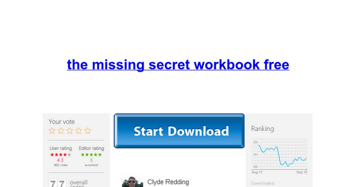 The missing secret workbook free google docs fandeluxe Gallery
