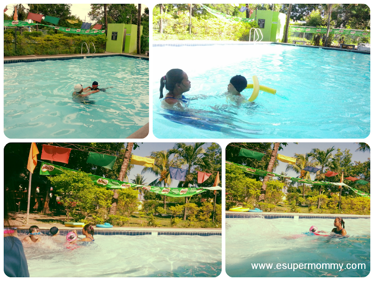 Milo Sports Clinic Swimming Lesson Water Safety