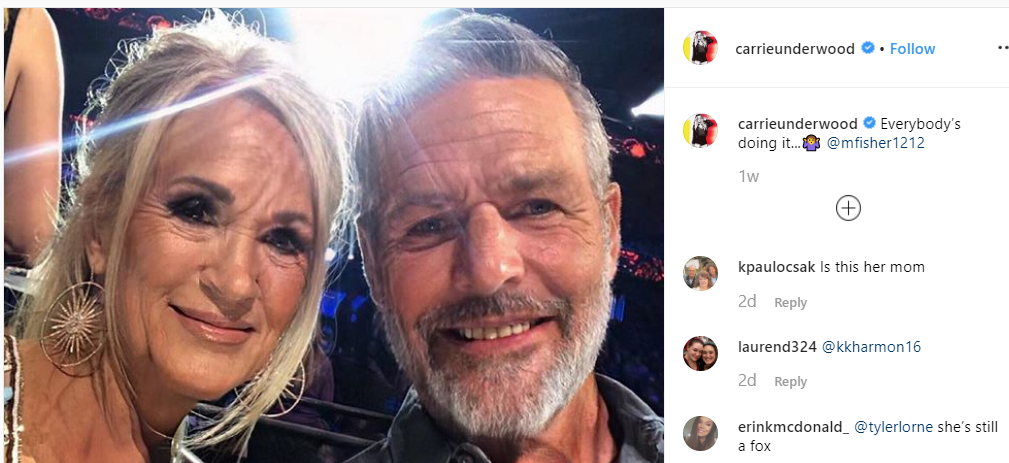 Carrie Underwood and her husband faceapp - faceapp privacy issues